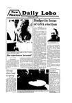 New Mexico Daily Lobo, Volume 083, No 123, 4/1/1980