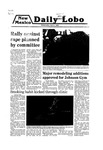 New Mexico Daily Lobo, Volume 083, No 124, 4/2/1980 by University of New Mexico