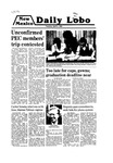 New Mexico Daily Lobo, Volume 083, No 128, 4/8/1980 by University of New Mexico