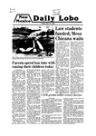 New Mexico Daily Lobo, Volume 083, No 136, 4/18/1980 by University of New Mexico