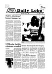 New Mexico Daily Lobo, Volume 083, No 137, 4/21/1980 by University of New Mexico