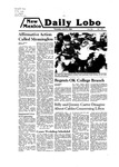 New Mexico Daily Lobo, Volume 083, No 156, 7/31/1980 by University of New Mexico