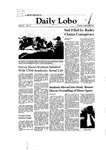 New Mexico Daily Lobo, Volume 085, No 3, 8/26/1980