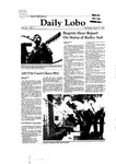 New Mexico Daily Lobo, Volume 085, No 4, 8/27/1980