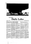 New Mexico Daily Lobo, Volume 085, No 6, 8/29/1980