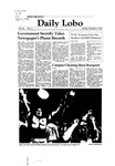 New Mexico Daily Lobo, Volume 085, No 11, 9/8/1980 by University of New Mexico