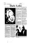New Mexico Daily Lobo, Volume 085, No 16, 9/15/1980