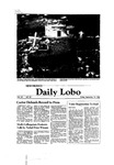 New Mexico Daily Lobo, Volume 085, No 20, 9/19/1980 by University of New Mexico