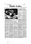 New Mexico Daily Lobo, Volume 085, No 21, 9/22/1980 by University of New Mexico