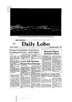 New Mexico Daily Lobo, Volume 085, No 28, 10/1/1980