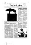 New Mexico Daily Lobo, Volume 085, No 30, 10/3/1980