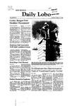 New Mexico Daily Lobo, Volume 085, No 37, 10/14/1980