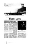 New Mexico Daily Lobo, Volume 085, No 38, 10/15/1980