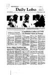 New Mexico Daily Lobo, Volume 085, No 40, 10/17/1980