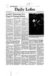 New Mexico Daily Lobo, Volume 085, No 45, 10/24/1980