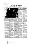 New Mexico Daily Lobo, Volume 085, No 49, 10/30/1980