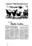 New Mexico Daily Lobo, Volume 085, No 51, 11/3/1980