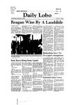 New Mexico Daily Lobo, Volume 085, No 53, 11/5/1980