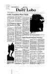 New Mexico Daily Lobo, Volume 085, No 55, 11/7/1980