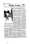 New Mexico Daily Lobo, Volume 085, No 57, 11/11/1980