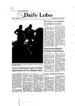 New Mexico Daily Lobo, Volume 085, No 67, 11/25/1980