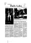 New Mexico Daily Lobo, Volume 085, No 71, 12/3/1980