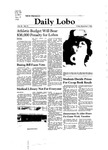 New Mexico Daily Lobo, Volume 085, No 73, 12/5/1980