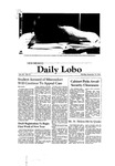 New Mexico Daily Lobo, Volume 085, No 75, 12/15/1980