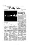 New Mexico Daily Lobo, Volume 085, No 78, 1/20/1981