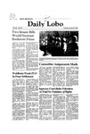 New Mexico Daily Lobo, Volume 085, No 83, 1/27/1981