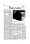 New Mexico Daily Lobo, Volume 085, No 84, 1/28/1981