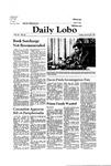 New Mexico Daily Lobo, Volume 085, No 86, 1/30/1981