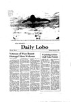 New Mexico Daily Lobo, Volume 085, No 87, 2/2/1981