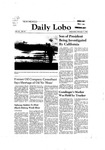 New Mexico Daily Lobo, Volume 085, No 94, 2/11/1981