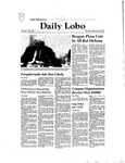 New Mexico Daily Lobo, Volume 085, No 100, 2/19/1981 by University of New Mexico
