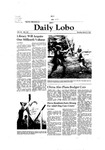New Mexico Daily Lobo, Volume 085, No 107, 3/2/1981 by University of New Mexico