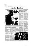New Mexico Daily Lobo, Volume 085, No 110, 3/5/1981 by University of New Mexico