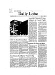 New Mexico Daily Lobo, Volume 085, No 111, 3/6/1981 by University of New Mexico