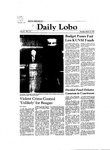 New Mexico Daily Lobo, Volume 085, No 115, 3/12/1981 by University of New Mexico