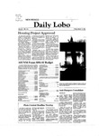 New Mexico Daily Lobo, Volume 085, No 116, 3/13/1981