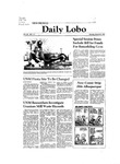 New Mexico Daily Lobo, Volume 085, No 117, 3/23/1981 by University of New Mexico