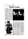 New Mexico Daily Lobo, Volume 085, No 120, 3/26/1981 by University of New Mexico