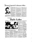 New Mexico Daily Lobo, Volume 085, No 123, 3/31/1981