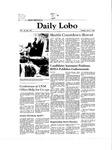 New Mexico Daily Lobo, Volume 085, No 128, 4/7/1981