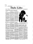 New Mexico Daily Lobo, Volume 085, No 132, 4/13/1981