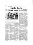 New Mexico Daily Lobo, Volume 085, No 133, 4/14/1981