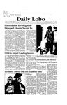 New Mexico Daily Lobo, Volume 085, No 134, 4/15/1981