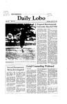 New Mexico Daily Lobo, Volume 085, No 137, 4/20/1981