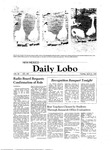 New Mexico Daily Lobo, Volume 085, No 138, 4/21/1981
