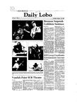 New Mexico Daily Lobo, Volume 086, No 3, 8/25/1981